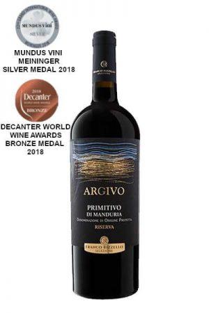 Le Vigne di Sammarco - Primitivo di Manduria Argivo Riserva 2012