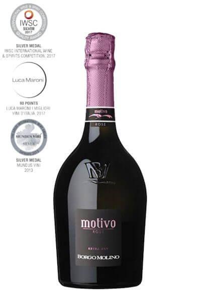 Borgo Molino - Spumante Motivo Rosé Extra Dry (1.5 l)